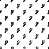 Sport whistle pattern vector Stock Image