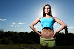 Sport woman Stock Photography