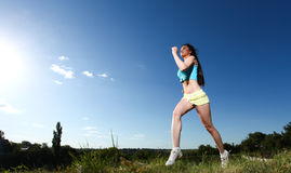 Sport woman Stock Photos