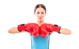 Sport woman Royalty Free Stock Images