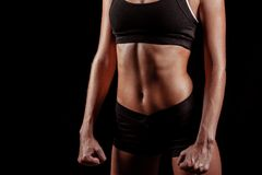 Sport woman body Stock Photo