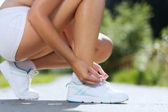 Sport woman Royalty Free Stock Photography