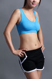 Sport Woman with health figure Royalty Free Stock Photo