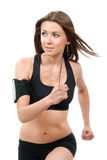Sport woman jogging and running Stock Photography
