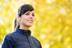 Sport woman portrait Stock Image