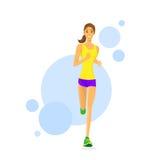 Sport Woman Run Fitness Girl Runner Jogging Stock Photo