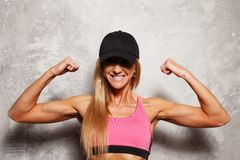 Sport woman Royalty Free Stock Photos
