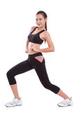 Sport woman stretching exercise. Royalty Free Stock Photos