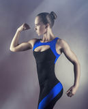 Sport woman royalty free stock image