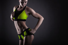 Sport woman stock images