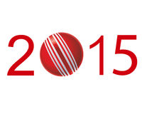 2015 sport year. Happy sport year 2015 illustration Royalty Free Stock Photography