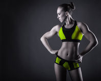 Sport young woman Stock Image