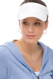 Sport - young woman in summer fitness outfit Royalty Free Stock Photography