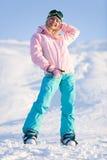 sport zima obraz royalty free