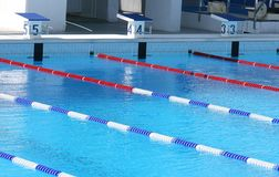 Sporta basen obrazy stock