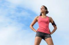 Sporta kobiety sukces zdjęcie royalty free