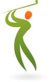 Sporta logo - golf Zdjęcie Royalty Free