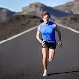 Sporta mężczyzna bieg Fotografia Royalty Free