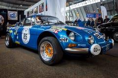 Sporta samochód Alpejski A110 1600 SX, 1977 Obraz Stock