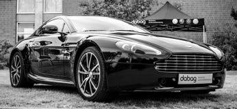 Sporta samochód Aston Martin Korzystny, 2010 Zdjęcia Royalty Free