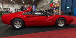 Sporta samochód Ferrari 308 GTSi, 1980 obrazy royalty free