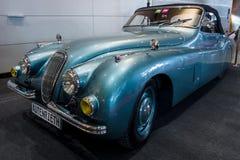 Sporta samochód Jaguar XK120, 1951 Fotografia Royalty Free