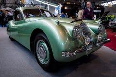 Sporta samochód Jaguar XK120 Coupe, 1953 Fotografia Stock