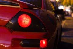 Sporta samochód jarzy się Z powrotem światła Obrazy Stock