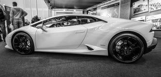 Sporta samochód Lamborghini Huracan LP 610-4, 2014 Obraz Stock