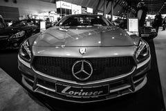 Sporta samochód Mercedes-Benz SL350 R351, 2012 Fotografia Stock