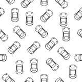 sporta samochód od odgórnej ikony w wzoru stylu Jeden amerykańska bieżna inkasowa ikona może używać dla UI, UX ilustracja wektor