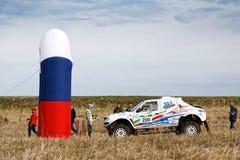 Sporta samochód przygotowywa dla początku wiec zdjęcie royalty free