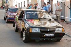 Sporta samochód współzawodniczy Yalta Pierwszorzędnego Wiec Fotografia Stock