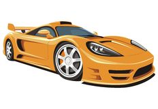 Sporta samochód Obraz Royalty Free