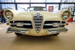 Sporta samochodu Alfa Romeo 1900C Sprint Super Coupe Lugano, 1957 Obrazy Royalty Free