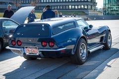 Sporta samochodu Chevrolet korweta &-x28; C3&-x29; Nieruchomość Eckler, 1973 Obrazy Royalty Free