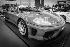 Sporta samochodu Ferrari F360 wyzwanie Scuderia Corsa Zdjęcie Stock