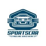 Sporta samochodu loga ikona lub szablon Fotografia Stock