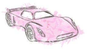 Sporta samochodu nakreślenie Swój projektują Obraz Stock