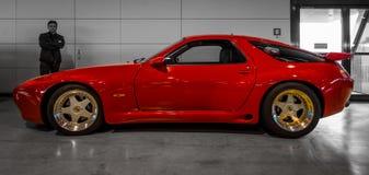 Sporta samochodu Porsche 928 S4 Strosek projekt Zdjęcie Royalty Free
