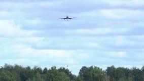 Sporta samolotowy lądowanie zdjęcie wideo
