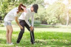 Sporta uraz obrazy royalty free