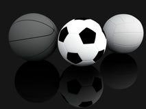 Sporta wyposażenie. 3D ilustracja ilustracji