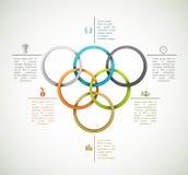 Sportachtergrond royalty-vrije illustratie