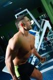 Sportamen and body Stock Image