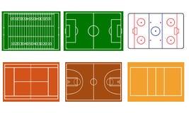 sportar vektor illustrationer