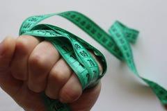sportar bantar grön mesayrement Royaltyfri Fotografi
