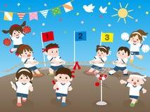 Sportar day2 royaltyfri illustrationer