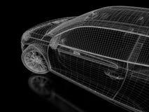 sportar för bil 3d Royaltyfri Bild