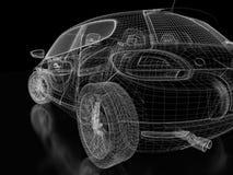 sportar för bil 3d Arkivbilder